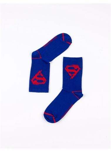 Superman Çorap Saks